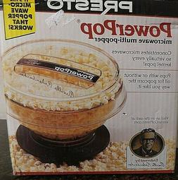 Presto 04830 PowerPop Microwave Multi-Popper Popcorn Kernel