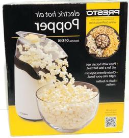 PRESTO 04846 Electric Hot Air Popcorn Popper w/ Butter Melte