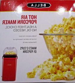 "BELLA 12 Cup Hot Air Popcorn Maker <> ""No Oil Needed"""