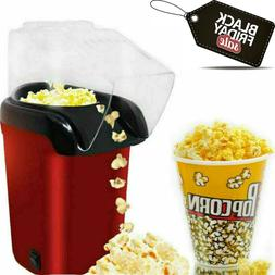 1200W Hot Air Pop Popcorn Machine Popper Maker Mini Tabletop