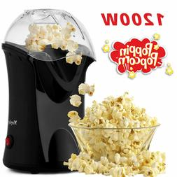 Hot Air Popcorn Maker,Popcorn Machine,Popcorn Popper 1200W,N