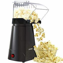 HIRIFULL 1200W Hot Air Popcorn Poppers Machine, Home Electri