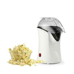 1200W Popcorn Machine Hot Air Popcorn Popper with Wide Mouth
