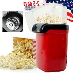 1200W Popcorn Machine Popper Pop Hot Air Popcorn Maker Table