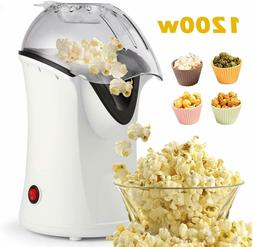 1200W Popcorn Maker, Popcorn Machine, Hot Air Popcorn Popper