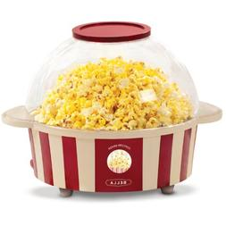 BELLA 13553 Stir Stick Popcorn Maker, Red and White