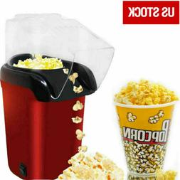 16-Cup Home Air Pop Popcorn Machines Popper Maker Mini Table