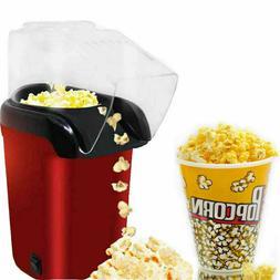 16 Cups Hot Air Pop Popcorn Machine Popper Maker Small Table
