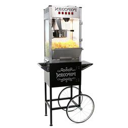 Paramount 16oz Commercial Popcorn Maker Machine & Cart - 16