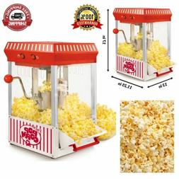 Tabletop Kettle Maker 2.5 Ounce Popcorn Popper Machine Fresh