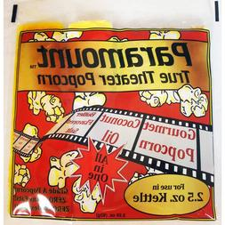 2.5oz - Case of 24 Individual 2.5 Ounce Popcorn Portion Pack