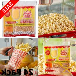 4 Oz. All-In-One Popcorn Kit Large Butterfly Butter Popper