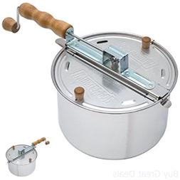 Wabash Valley Farms 25008A The Original Whirley Pop Stovetop