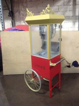 2660gt commercial popcorn machine maker popper cart