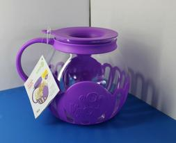 3-qt Microwave Popcorn Popper in Gift Box/One item/New/purpl