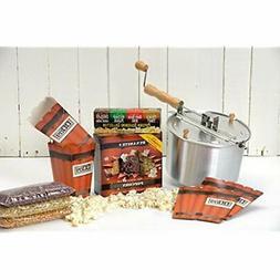 Wabash Valley Farms 36028 36028AMZ Popcorn Popper Kit, Regul