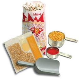Benchmark USA 45004 Popcorn Starter Kit for 4 Oz. poppers