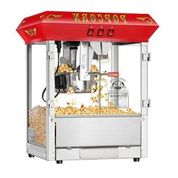Hot and Fresh Countertop Style Popcorn Popper Machine-Makes