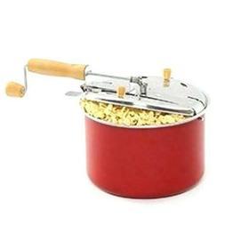 West Bend 6 Quart Stove Top Popcorn Popper Red PC10595