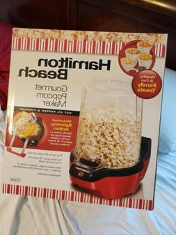 Hamilton Beach 73304 Gourmet Popcorn Maker, Red