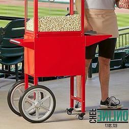 8 Oz Popcorn Popper Carts For Royalty Series Side Shelf Red