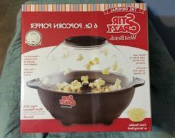 West Bend 82306 Stir Crazy 6-Quart Electric Popcorn Popper N