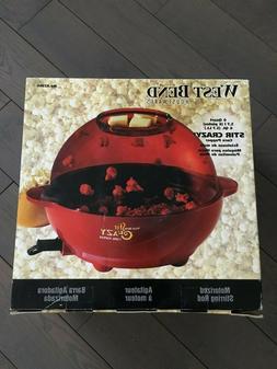 West Bend 82366 Stir Crazy Electric Hot Oil Popcorn Popper M