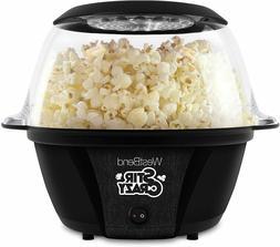 West Bend 82707B Stir Crazy Electric Hot Oil Popcorn Popper