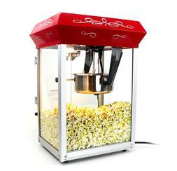 8oz Popcorn Maker Machine - 8 oz Hot Oil Popper  Theater Pop