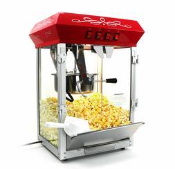 Paramount 8oz Popcorn Maker Machine - New Upgraded 8 oz Hot