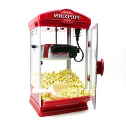 8oz red popcorn maker machine by new