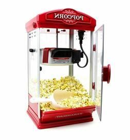 8oz Red Popcorn Maker Machine by Paramount - New 8 oz Capaci