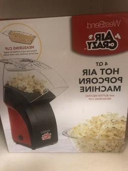 Air Crazy Hot Air Popcorn Popper
