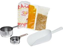 Benchmark 45008 127 Piece Popcorn Starter Kit, For 8 oz Popp