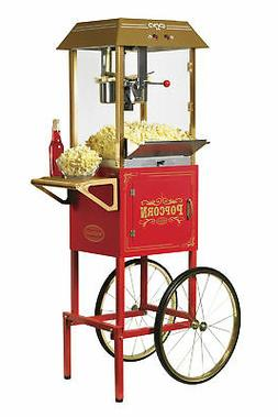 Nostalgia Electrics - Vintage Collection 10-oz. Popcorn Cart