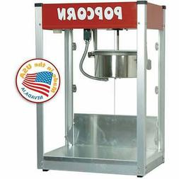Paragon 8 oz. Theater Popcorn Machine Thrifty Red Style Conc