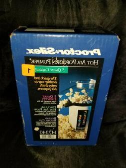 Proctor-silex Hot Air Popcorn Pumper 5 Quart