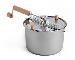 Whirley Pop Stainless Steel 6 Quart Stovetop Popcorn Popper