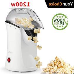Hot Air Popcorn Maker,Popcorn Machine,Popcorn Popper 1200W,N