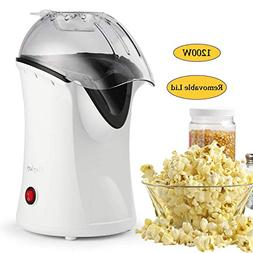 1200W Hot Air Popcorn Popper Electric Popcorn Machine Maker