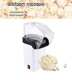 Loveje Hot Air Popcorn Popper Machine, 1200W Popcorn Maker,