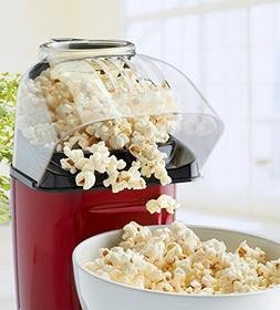 Hot Air Table Top Electric Pop Corn Maker with Butter Dispen