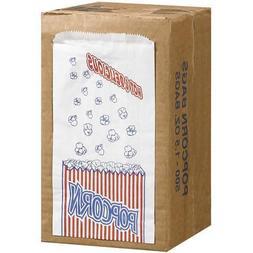 Duro Bag Premium Movie Theater Quality Popcorn Bags - 500 /1