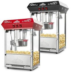 Olde Midway Bar Style Popcorn Machine Maker Popper with 8-Ou