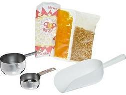 Benchmark 45008 127 Piece Popcorn Starter Kit, For 8 oz Popp