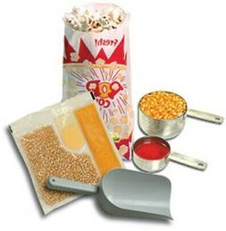Benchmark USA 45006 Popcorn Starter Kit for 6 Oz. poppers