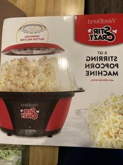West Bend 82505 Crazy Electric Hot Oil Popcorn Popper Machin
