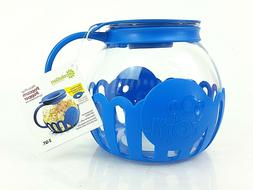 Ecolution Blue Micro-Pop Microwave Popcorn Popper 3QT Temper