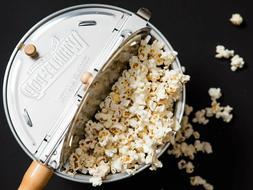 BRAND NEW Whirley Pop Stovetop Metal Popcorn Popper Wabash V
