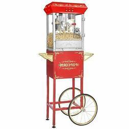 Superior Popcorn 8 Ounce Classic Carnival Popcorn Popper Mac